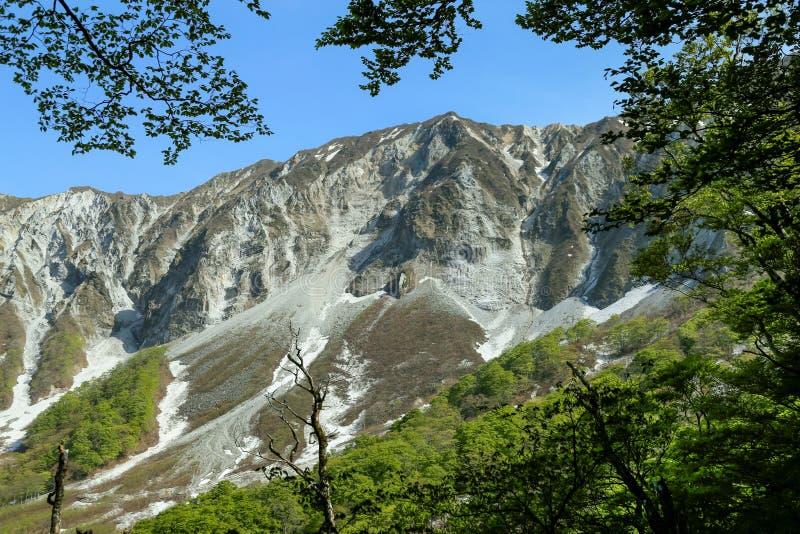 Montaña Daisen en la prefectura de Tottori, Japón imagenes de archivo