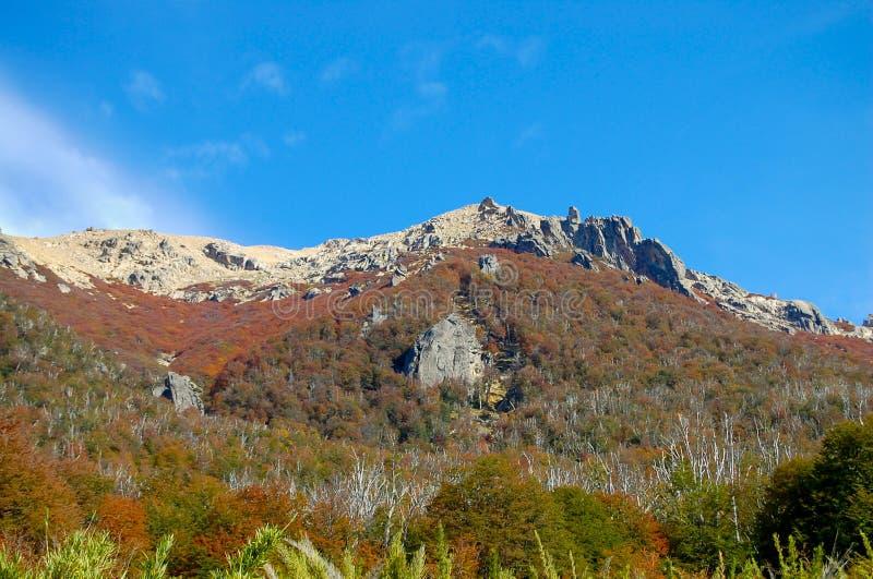 Montaña de 'Cerro Catedral ' fotografía de archivo