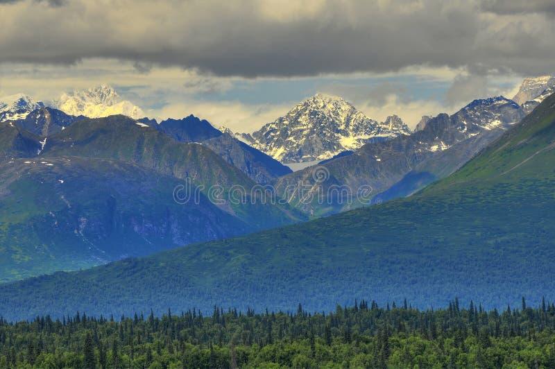 Montaña de Alaska imagen de archivo libre de regalías