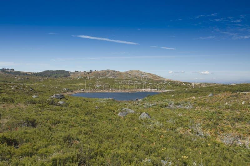 Montaña de Alvão en Portugal, Vila Real fotografía de archivo libre de regalías
