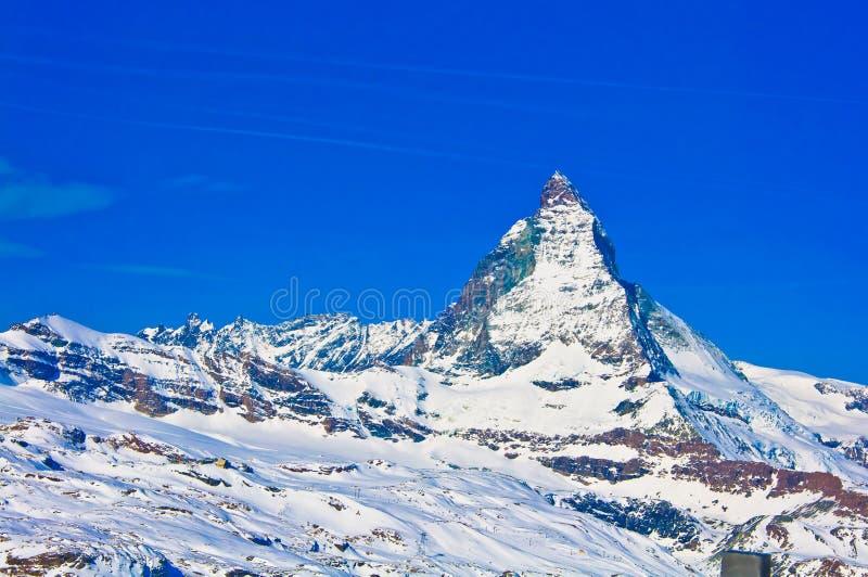 Montaña de Cervino imagen de archivo libre de regalías