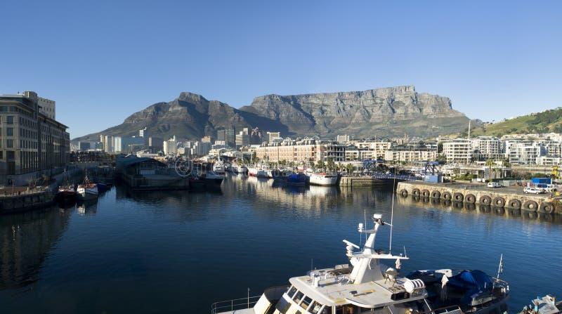 Montaña de Ciudad del Cabo y del vector fotografía de archivo libre de regalías