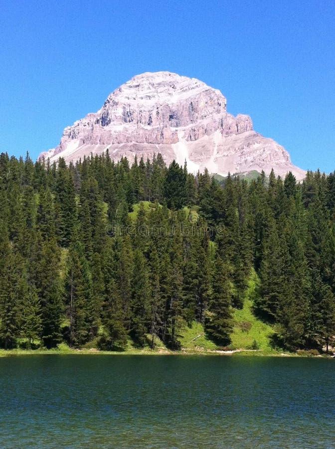 Montaña de Crowsnest imagen de archivo libre de regalías