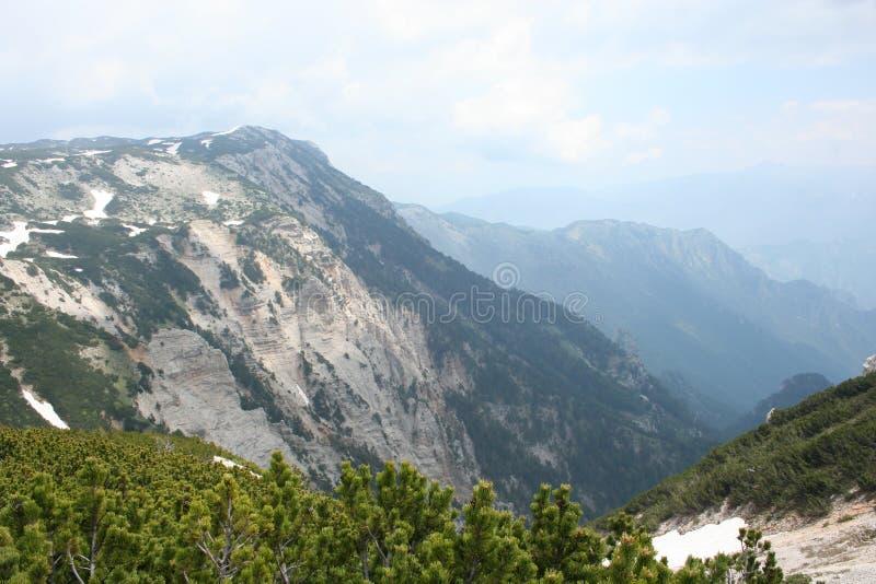 Montaña de Cvrsnica fotografía de archivo