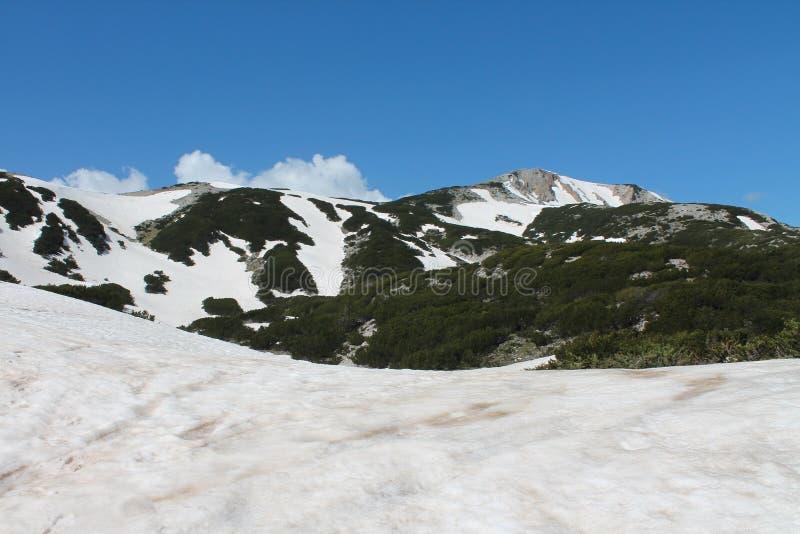 Montaña de Cvrsnica foto de archivo libre de regalías