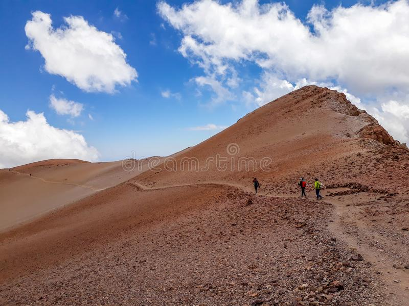 Montaña de dunas imagen de archivo