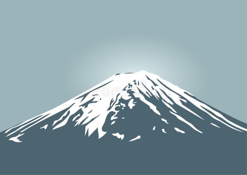 Montaña de Fuji, símbolo de Japón y el viajar de Asia imagen de archivo libre de regalías