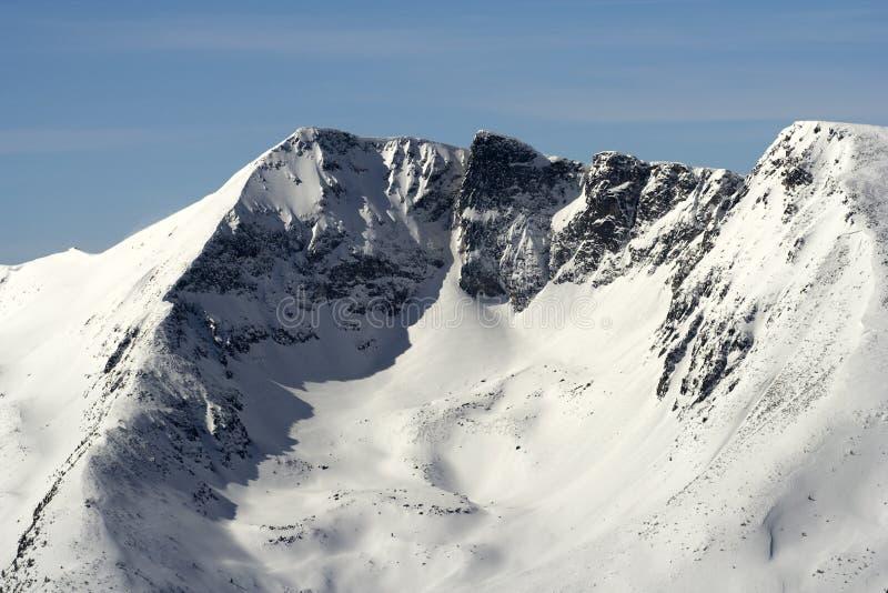 Montaña de la columna Dino imagen de archivo
