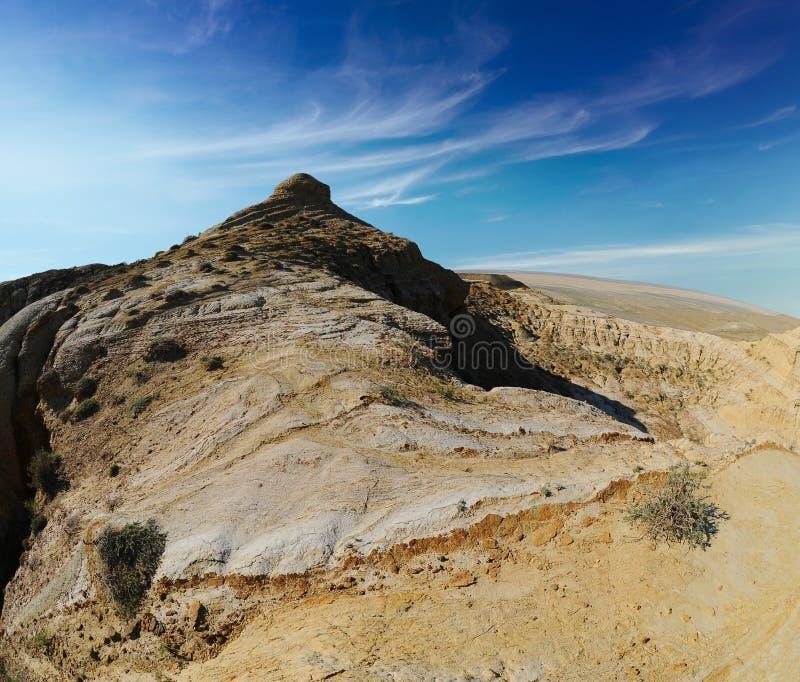 Montaña de la meseta Shalkar Nura fotos de archivo libres de regalías