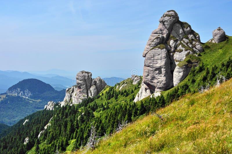 Montaña de la roca fotografía de archivo libre de regalías