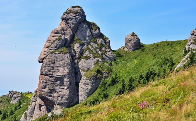 Montaña de la roca fotografía de archivo