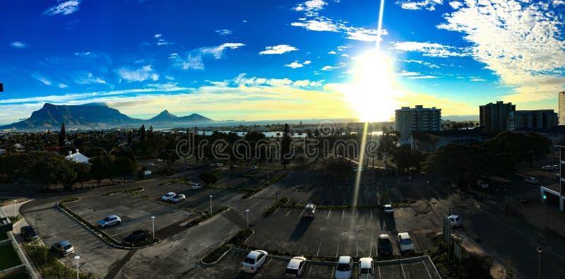 Montaña de la tabla de Cape Town foto de archivo libre de regalías