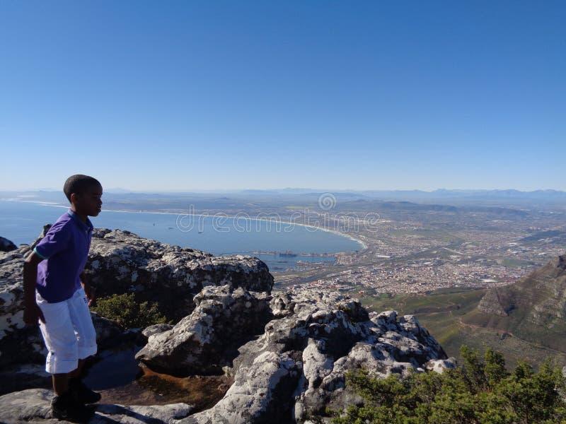 Montaña de la tabla, Cape Town Suráfrica foto de archivo