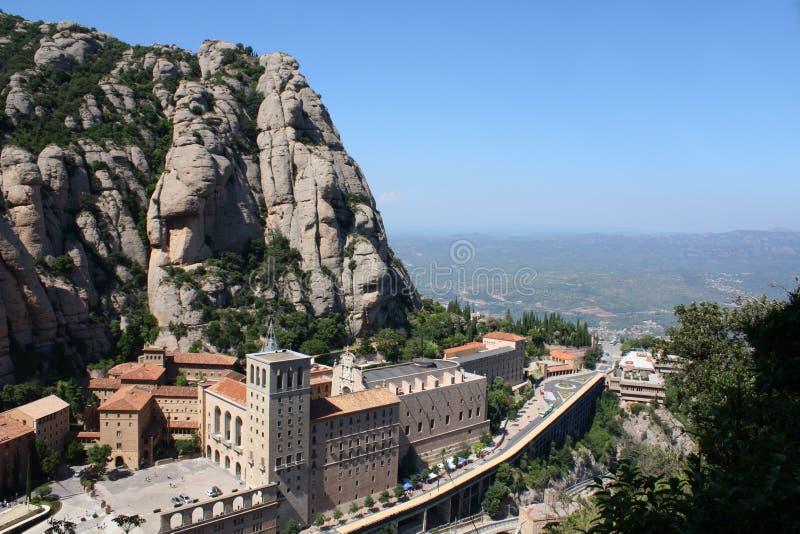 Montaña de Montserrat imagenes de archivo