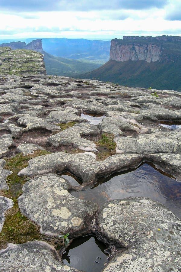Montaña de Pai Inacio, Chapada Diamantina fotos de archivo