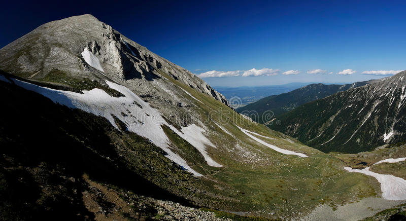 Montaña de Pirin fotos de archivo