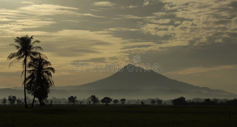 Montaña de Seulawah imagen de archivo