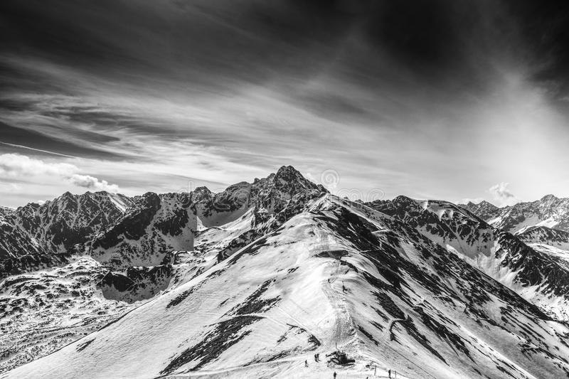 Montaña de Swinica fotografía de archivo