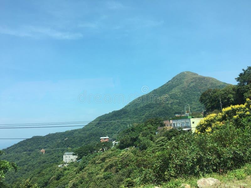 Montaña de Taiwán fotos de archivo