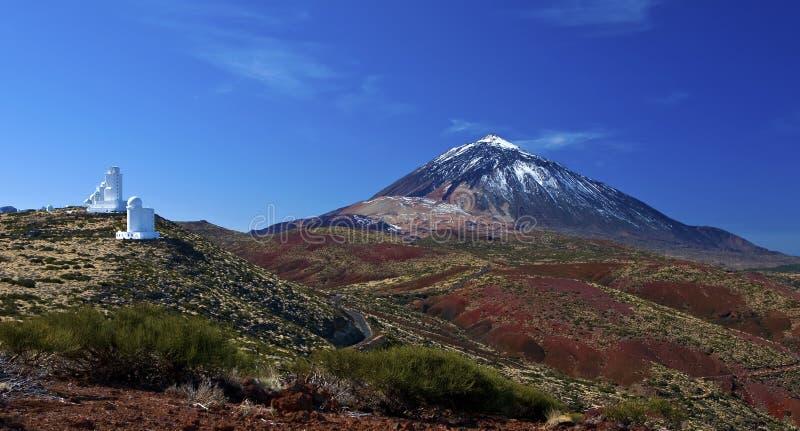 Montaña de Teide imagen de archivo