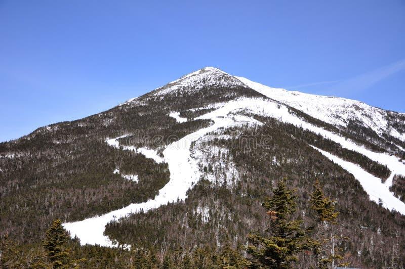Montaña de Whiteface en el invierno, Adirondacks foto de archivo libre de regalías