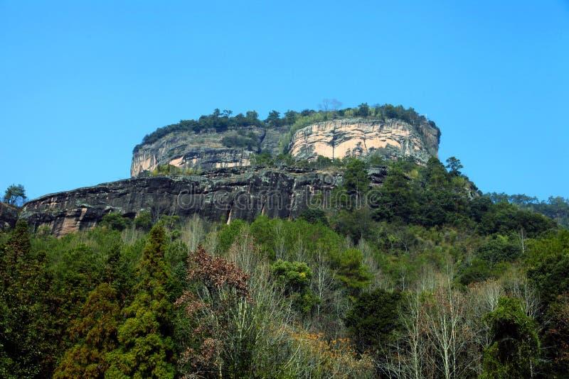 Montaña de Wuyi imágenes de archivo libres de regalías