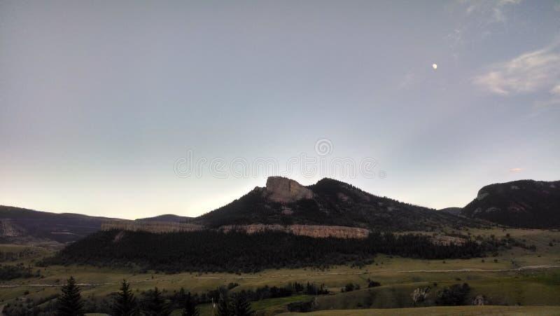 Montaña de Wyoming fotografía de archivo