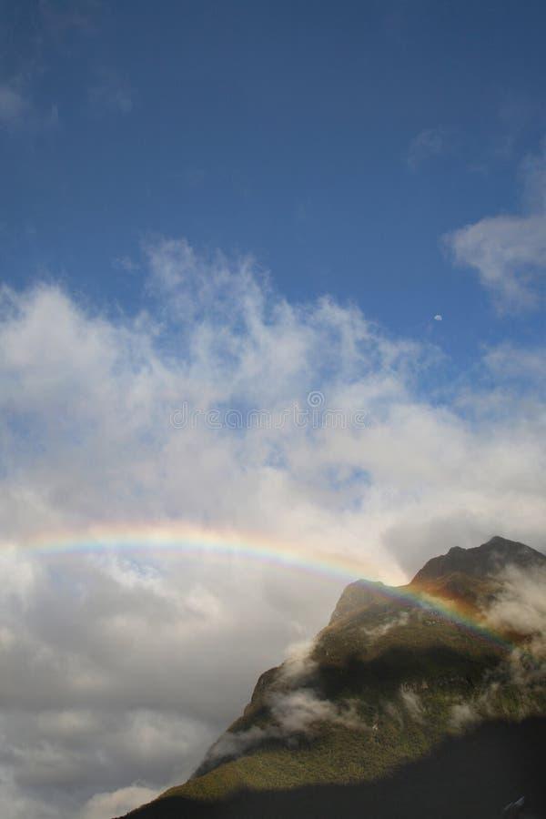 Montaña del arco iris imágenes de archivo libres de regalías
