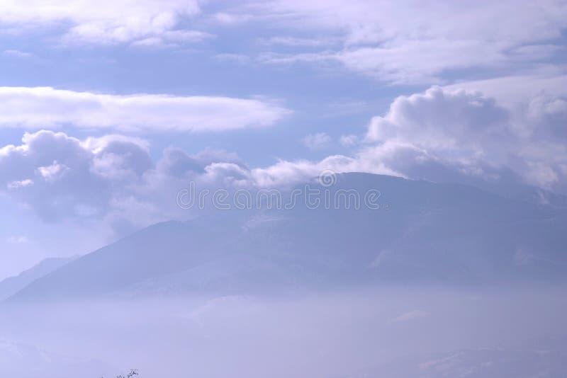 Montaña del cielo fotos de archivo