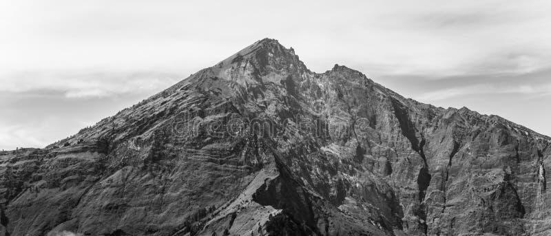 Montaña del mejor volcán imagen de archivo