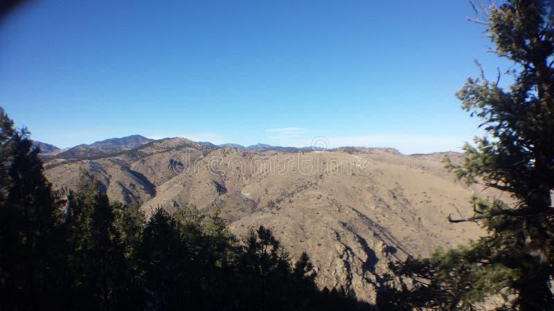 Montaña del puesto de observación fotografía de archivo libre de regalías