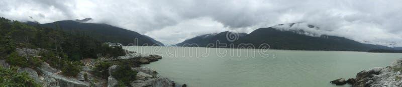 Montaña en Alaska fotografía de archivo libre de regalías