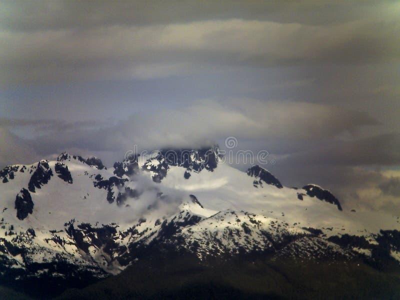 Montaña en Alaska fotos de archivo libres de regalías