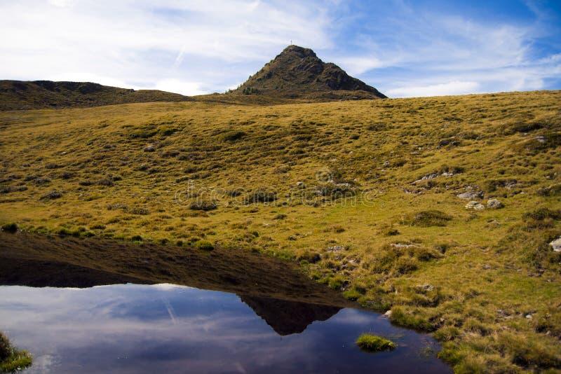 Montaña en Austria fotos de archivo