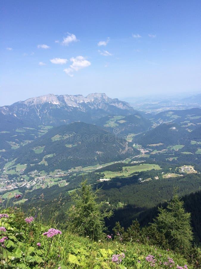 Montaña en Austria foto de archivo