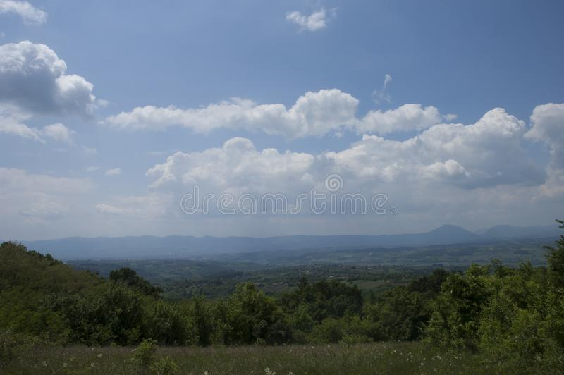 Montaña en Serbia-Planina u Srbiji fotografía de archivo libre de regalías