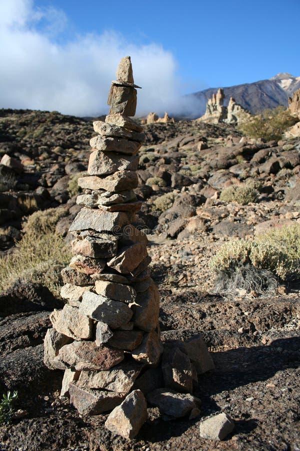 Montaña en Tenerife imagenes de archivo