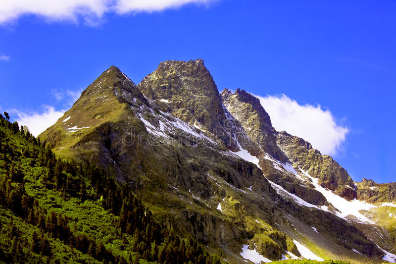 Montaña en Valtellina imágenes de archivo libres de regalías