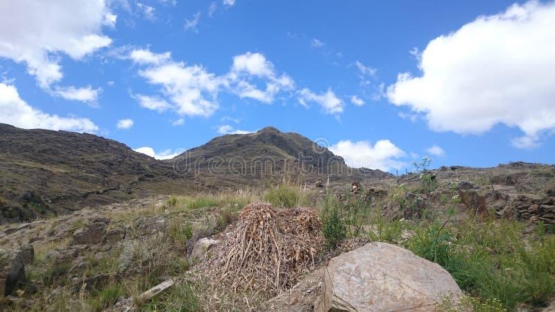 Montaña grande foto de archivo libre de regalías