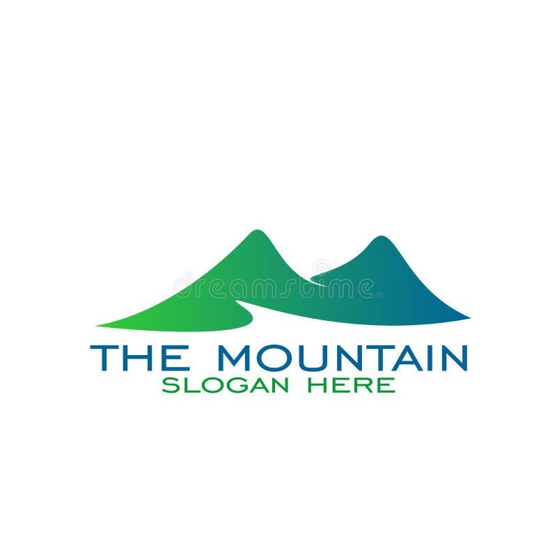 Montaña Logo Design libre illustration