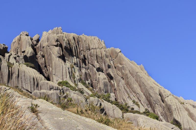 Montaña máxima de Agulhas Negras (agujas negras), Rio de Janeiro, Br imágenes de archivo libres de regalías
