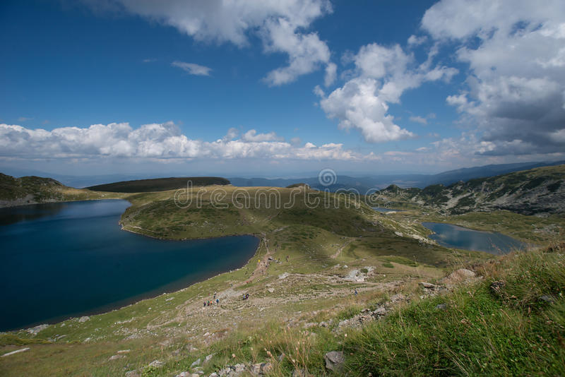 Montaña natural hermosa de Bulgaria foto de archivo