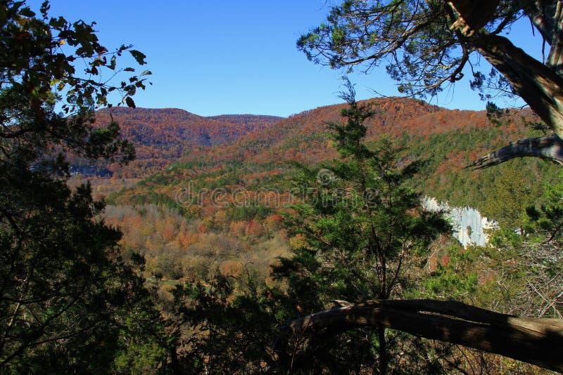 Montaña Ridge de la caída imagen de archivo libre de regalías