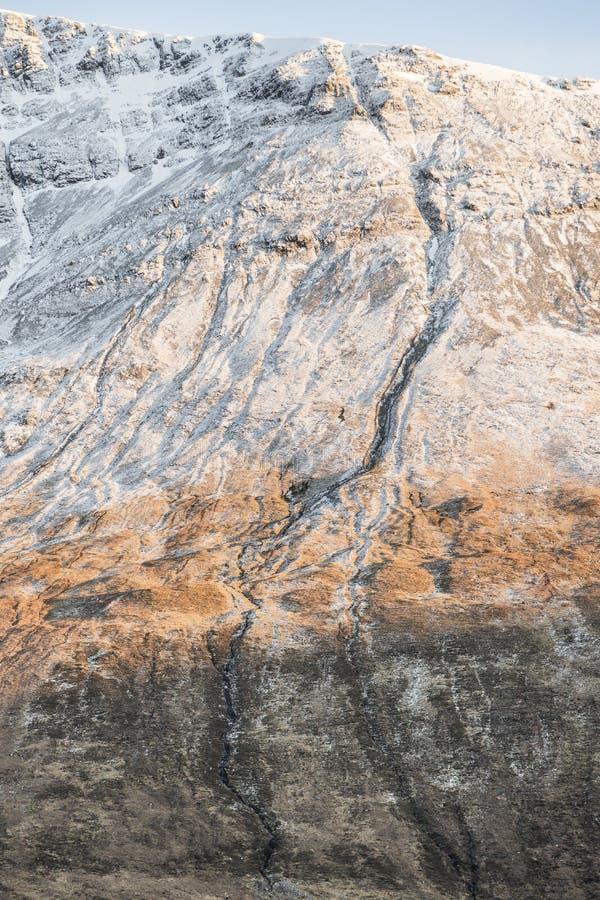 Montaña Ridge en el Cuillin en Skye fotos de archivo
