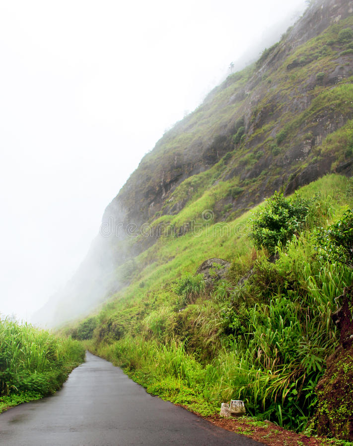 Montaña, Sri Lanka imagen de archivo libre de regalías