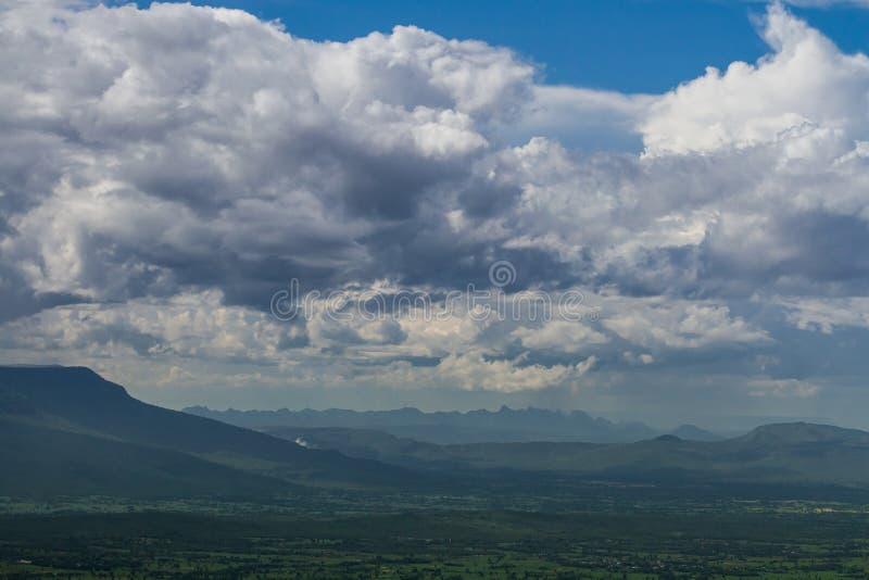 Montaña Tailandia imagen de archivo