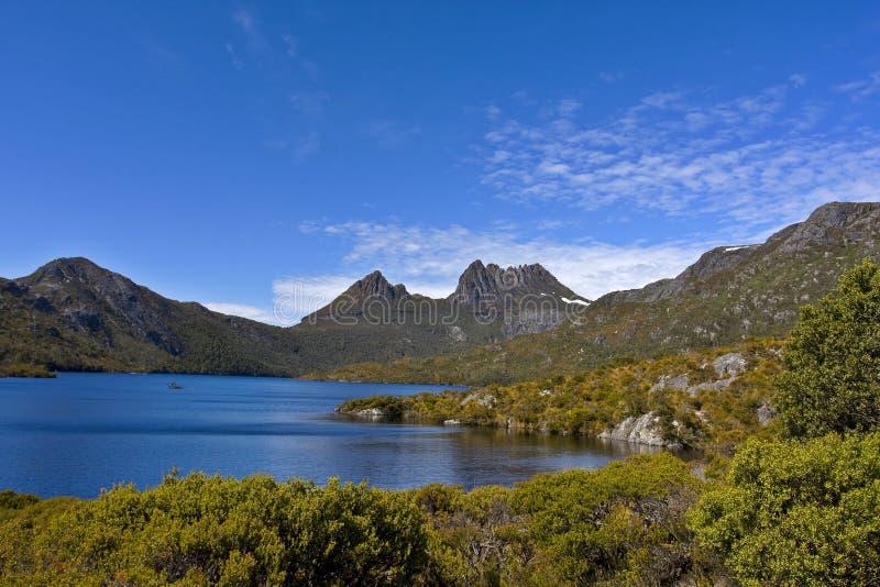 Montaña Tasmania Australia De La Horquilla Fotografía de archivo libre de regalías