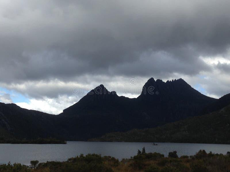 Montaña Tasmania de la horquilla foto de archivo libre de regalías