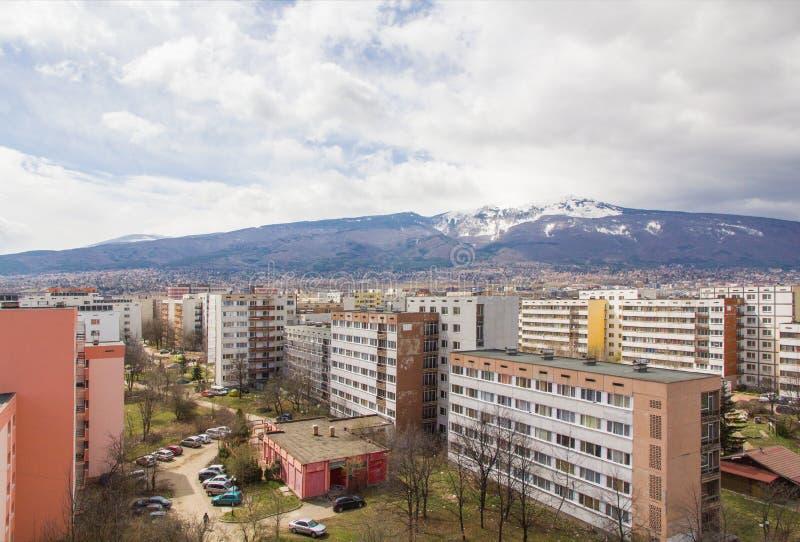 Montaña Vitosha de Sofía fotos de archivo
