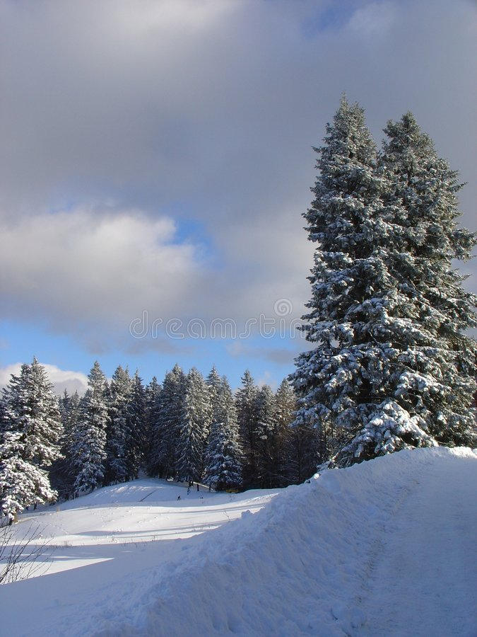 Montañas 03 imagen de archivo libre de regalías